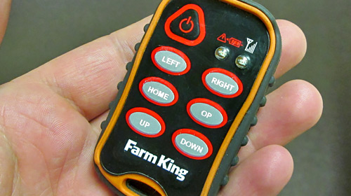 Farm King- Remote Swing-Auger