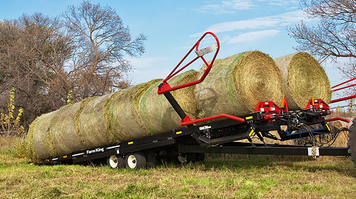 Farm King- Round Bale Carrier
