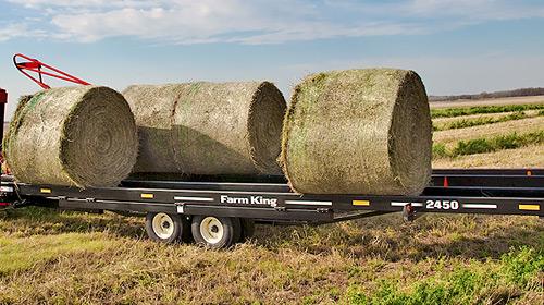 Farm King- Round Bale Carrier