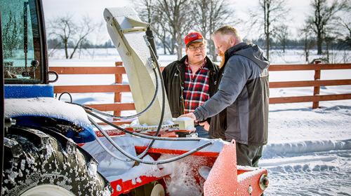 Farm King Pull Type Snowblower